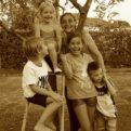 Laura e nipoti